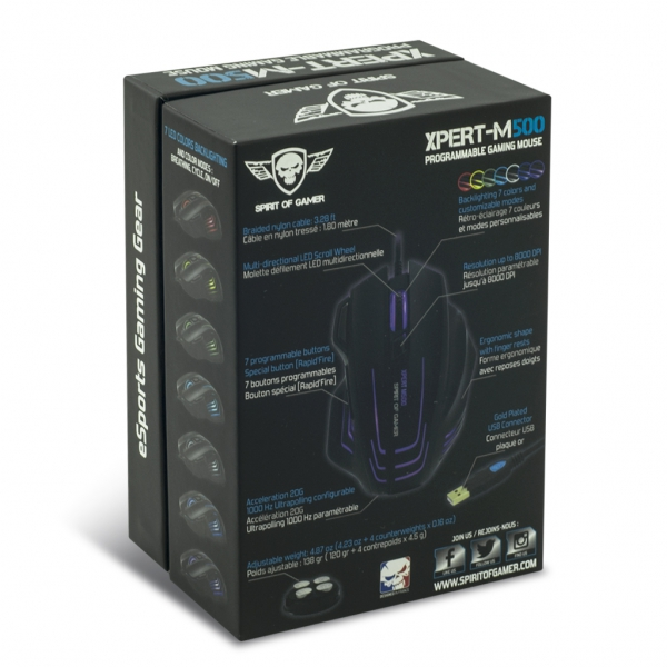 Souris Spirit Of Gamer Xpert-M500