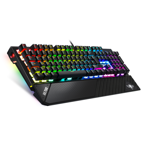 Clavier Mécanique XPERT-K700  LED RGB - SWITCH RED