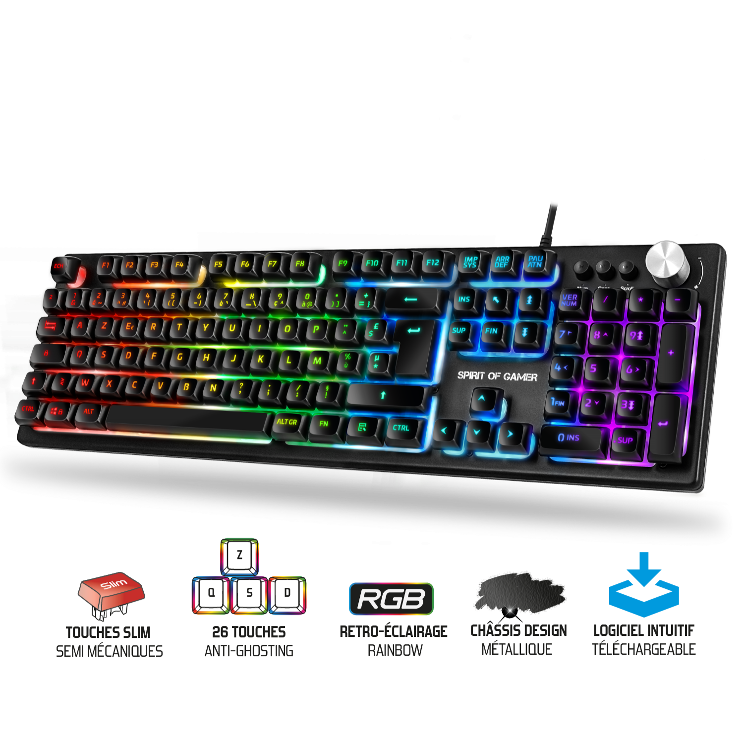 Clavier Spirit Of Gamer PRO K7
